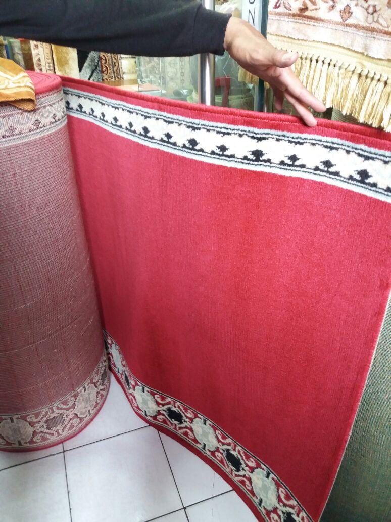 Distributor Jual Karpet Sajadah Masjid Turki Roll Berkualitas Tebal Di Jakarta Barat
