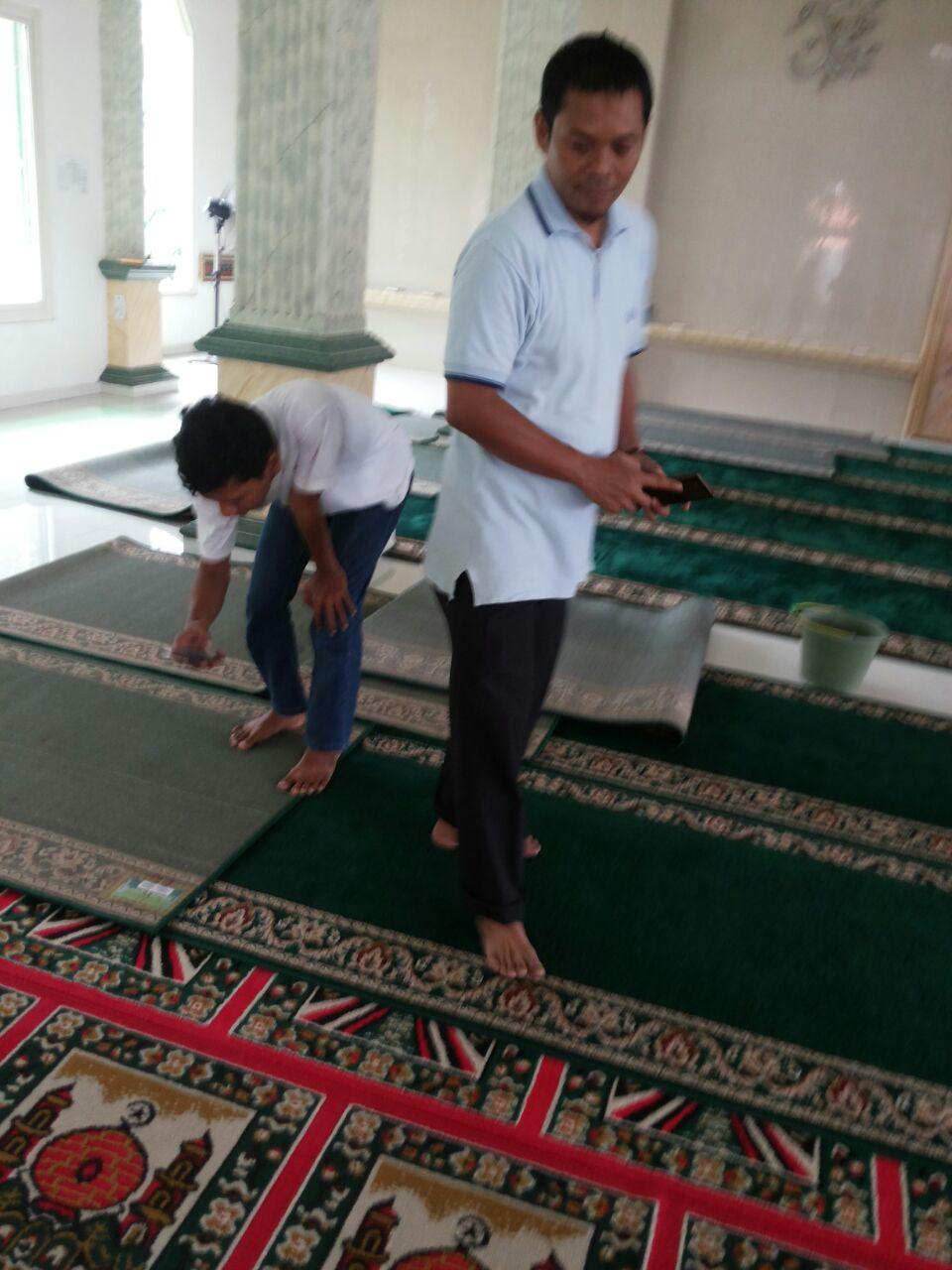Tempat Jual Karpet Sajadah Masjid Turki Roll Berkualitas Tebal Di Tangerang Selatan