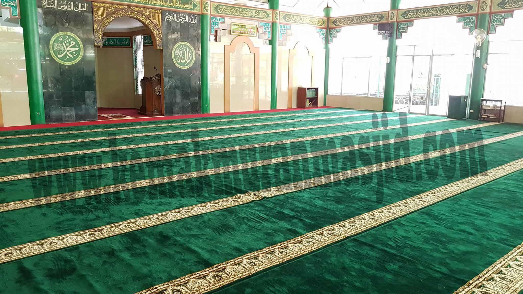 Jual Karpet Sajadah Masjid Turki Roll Berkualitas Tebal Di Cibitung Selatan