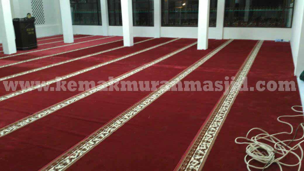 Jual Karpet Sajadah Masjid Turki Roll Berkualitas Tebal Di Cibitung Utara