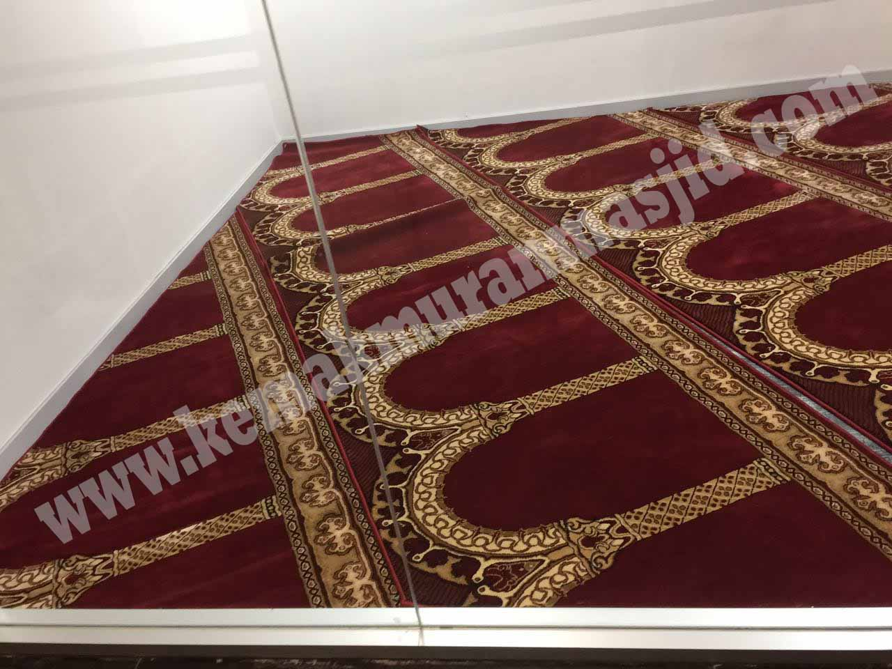 Jual Karpet Sajadah Masjid Turki Roll Berkualitas Tebal Di Cikarang Selatan