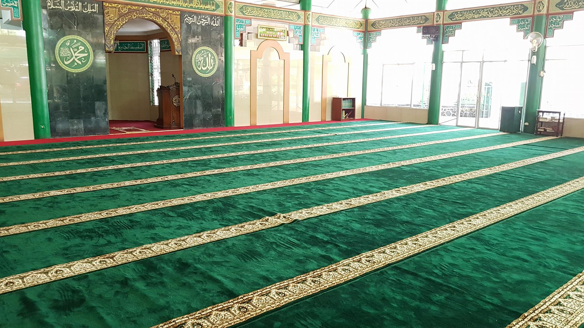 Dimana tempat info Jual Karpet Sajadah Masjid Turki Roll Berkualitas Tebal Di Harapan Indah
