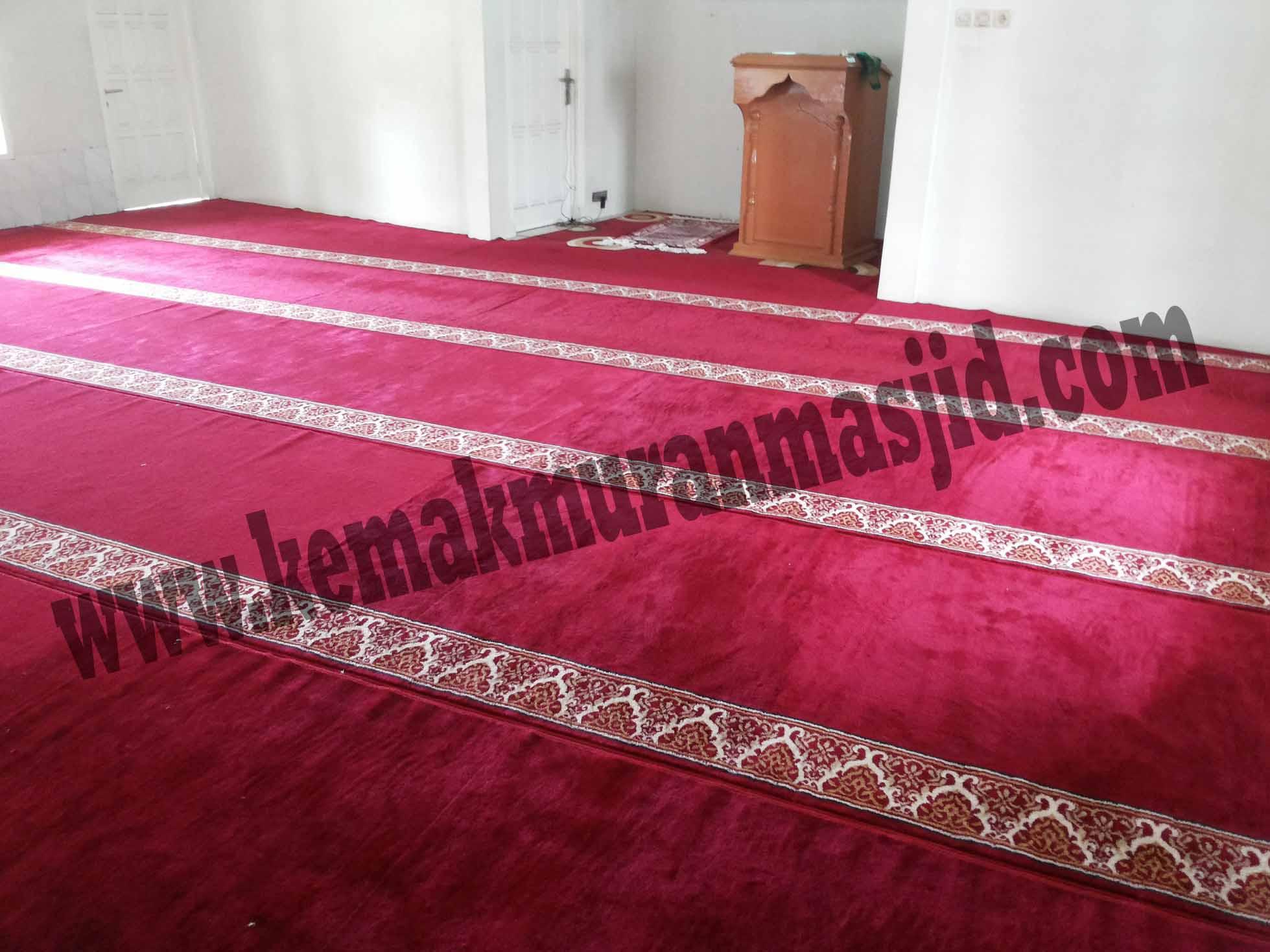Tempat Jual Karpet Sajadah Masjid Turki Roll Berkualitas Tebal Di Tambun Selatan