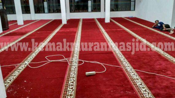 Jual Karpet Sajadah Masjid Turki Roll Berkualitas Tebal Di Depok