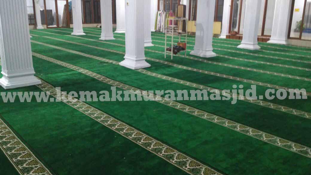 Jual Karpet Sajadah Masjid Turki Roll Berkualitas Tebal Di Permata Hijau