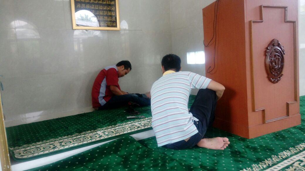 Grosir karpet masjid bekasi