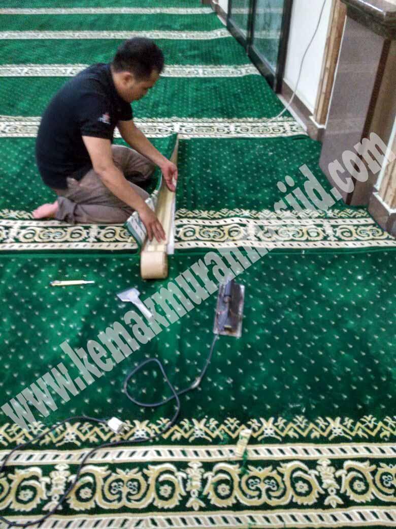 Harga Jual Karpet Masjid Turki Roll Polos Di Jakarta Yang Terjangkau
