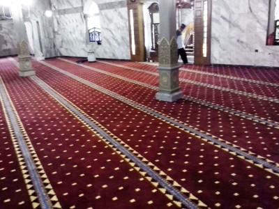 Informasi harga jual karpet masjid polos murah di jakarta