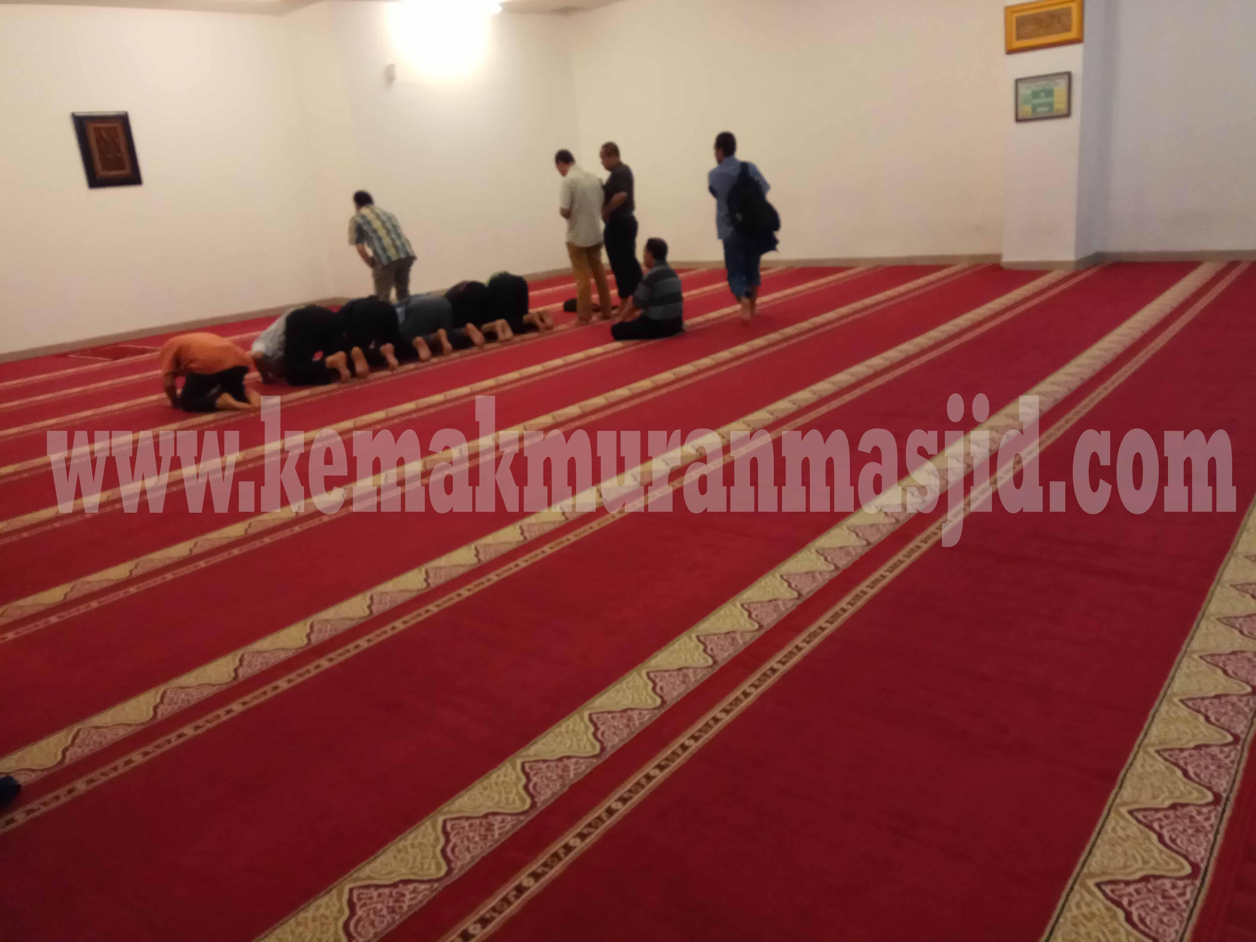 Tempat Informasi Harga Jual Karpet Masjid Turki Roll Polos Di Bekasi Murah Dan Terpercaya