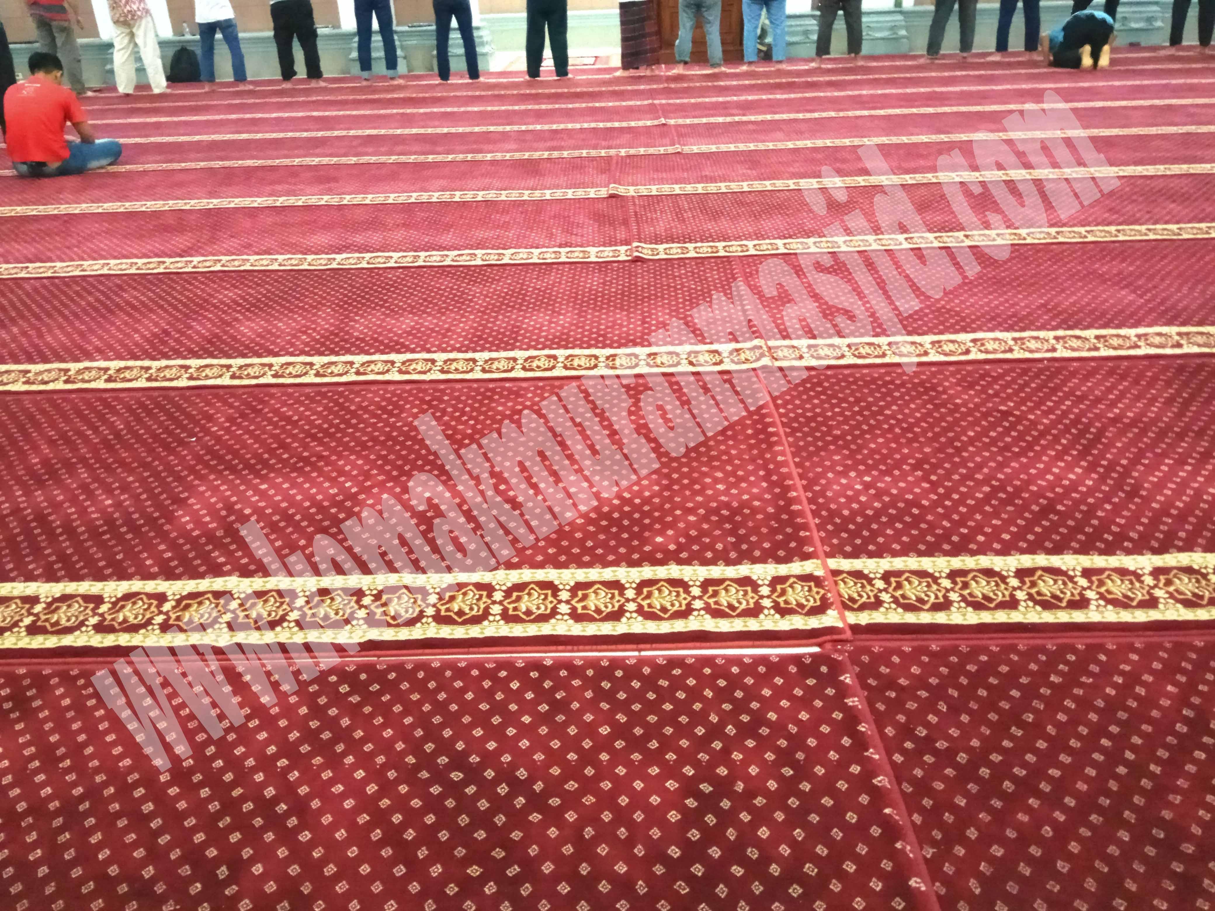 jual karpet masjid polos depok
