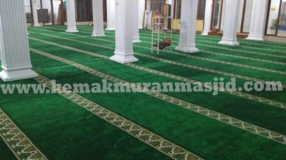 jual karpet masjid di makassar harga terjangkau