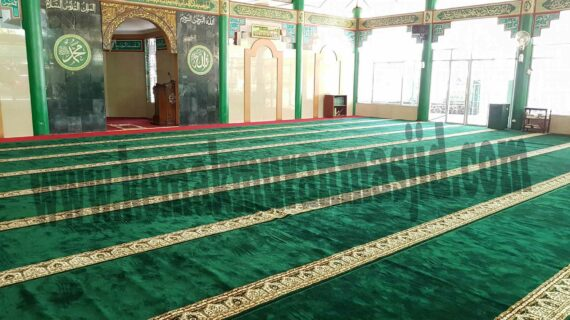 pabrik karpet masjid roll polos
