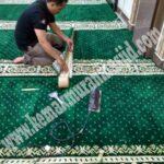 Harga Grosir Karpet Masjid Bandung Motif Polos