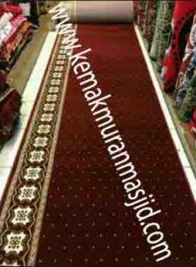 Jual karpet sajadah masjid roll di cibitung pusat
