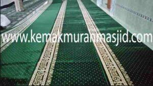 Jual karpet sajadah masjid roll di karawang selatan