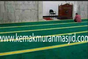 Jual karpet sajadah masjid roll di karawang utara
