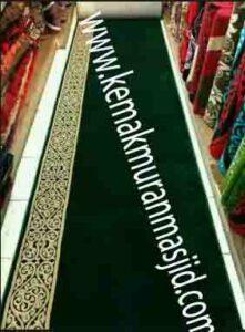 Jual karpet sajadah masjid roll di blok m Jakarta
