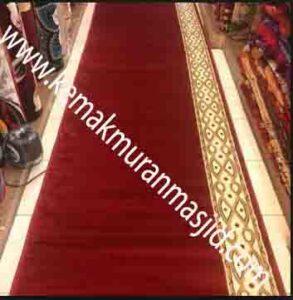 Jual karpet sajadah masjid roll di cempaka putih Jakarta