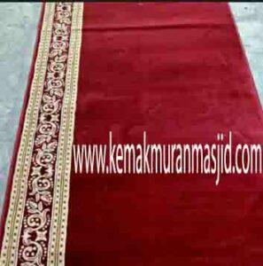Jual karpet sajadah masjid roll di kebayoran baru Jakarta