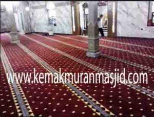 Jual karpet sajadah masjid roll di kampung melayu Jakarta