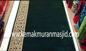 Jual karpet sajadah masjid roll di tanah abang Jakarta