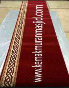 Jual karpet sajadah masjid roll di bunderan HI Jakarta