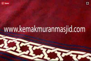 Jual karpet sajadah masjid roll di cipinang Jakarta