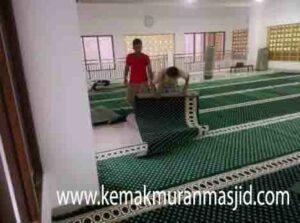 Jual karpet sajadah masjid roll di monas Jakarta
