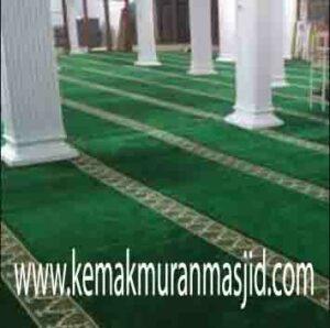 Jual karpet sajadah masjid roll di pramuka Jakarta
