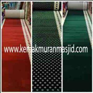 Jual karpet sajadah masjid roll di rawamangun Jakarta