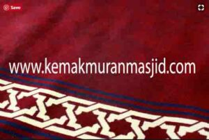 Jual karpet sajadah masjid roll di cilincing Jakarta