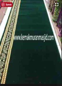 Jual karpet sajadah masjid roll di kramat jati Jakarta