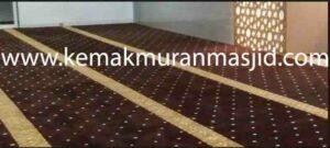 dimana tempat pesan karpet masjid di Telajung cikarang barat